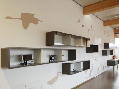 Škocjanski zalok, opazovalnica ptic, Koper, Slovenija